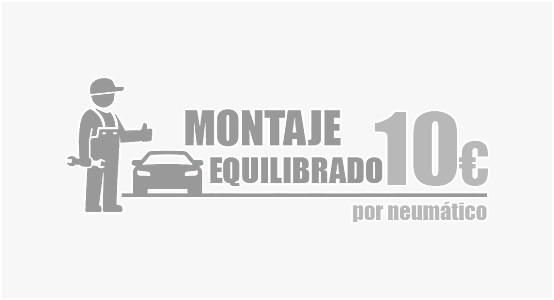 Servicio de montaje y equilibrado por sólo 10€+iva (Turismos) & 15€+iva(4x4,Furgonetas)!